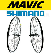 Mavic CXP Elite Shimano RS300 700c Front & Rear Bike Wheel Set 8 9 10 Speed
