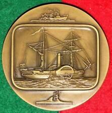 CELEBRITIES BOATS / WHEELS SHIP BRONZE MEDAL BY J.ALVES