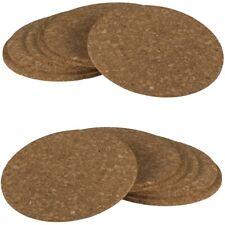 Kork-Untersetzer-Set Cork Coasters im coolen Landhaus-Design Ø ca. 9cm 12-teilig