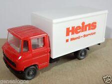 WIKING HO 1/87 MB MERCEDES L 608 CAMION TRUCK FRIGORIFIQUE service menu HEINS
