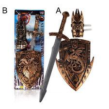 NEW Children Toys Swords Shiled Bow and Arrow Sword Shield Sucker SwordsToy Set