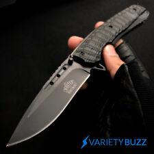 """9"""" MASTER BLACK TACTICAL FOLDING SPRING ASSISTED KNIFE Blade Pocket Open Assist"""