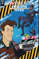 Ghostbusters Crossing Over #4 IDW  Cover A 2018 1ST PRINT