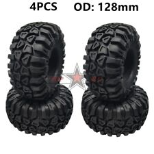 RC ROCK CAR 2.2 Inch Tire 128mm Tyre (4) For 1:10 AXIAL WRAITH JEEP TRX4 SCX10