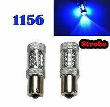 Strobe Reverse Backup 1156 BA15S 7506 3497 1141 P21W 80W Blue LED M1 Euro R2