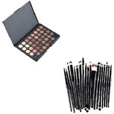 40 Sombras ojos matte maquillaje crema Palette + 20pcs brochas set beauty