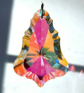 """Asfour 50mm Fancy Bell with Clear AB Crystal Prism Suncatcher 2"""""""
