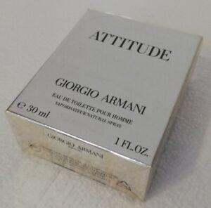 Attitude Giorgio Armani 30 ml Eau de Toilette Spray neu Folie originalverpackt !