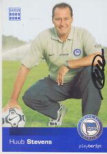 AUTOGRAMMKARTE / AUTOGRAPHCARD signed Huub Stevens 2003-2004 Hertha BSC 2003-04