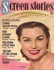 C587 Screen Stories April 1955 James Dean Vintage Movie Magazine