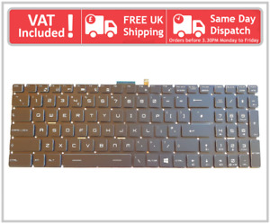 MSI GS60 GE62 GP62 GL62M GP62M GS70 GE72 GL72 GP72 UK Full RGB Backlit Keyboard