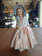 "Vintage Royal Doulton England Porcelain Figurine ""Lily� Bone China"
