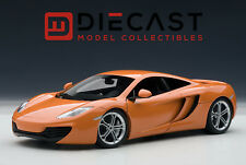 AUTOART 76006 MCLAREN MP4-12C, ORANGE 1:18TH SCALE