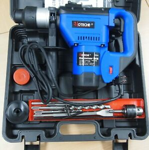 "1-1/2"" SDS Plus Rotary Hammer Drill 3 Functions 1.5 HP"