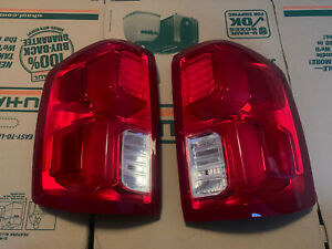 2016-2018 Silverado LTZ / High Country Tail Lights With OEM LED HARNESSES
