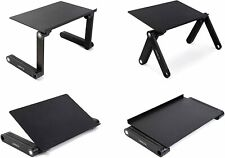 Lavolta Ergonomic Laptop Table Desk Breakfast Bed Tray Book Holder - Black