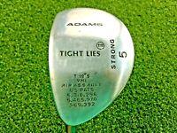 Adams Golf Tight Lies 5 Wood 19* / LH / Regular Graphite / Nice Grip / gw0529