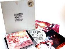 ROLLING STONES - 1973 INTERVIES -  LTD EDT NUMBERED CD BOX SET + PHOTOGRAPHS