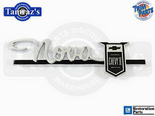 "63-64 "" Nova Chevy II "" Dash Glove Box Door Emblem"