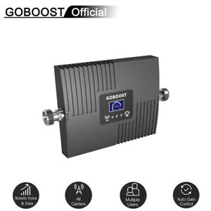 65dB 1900mhz Band 2 Cell Phone Repeater Voice Data Signal Booster Amplifier Set