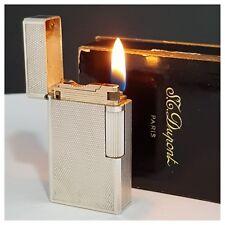 Briquet gaz *S.t Dupont Paris D57 le dernier + box - Lighter-Feuerzeug-Accendino