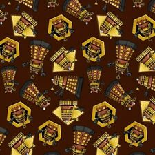 DR WHO DALEK QUILT FABRIC