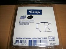 Lyreco Remanufactured Inkjet Cartridge Replaces LC1240 Brother (Black)