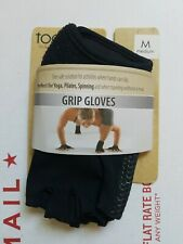Toesox Medium Grip Gloves Yoga Namaste Om Spinning Pilates YogaWorks Fitness