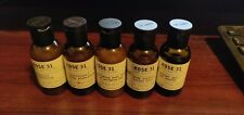 LOT OF (X5) LE LABO Rose 31 Travel Size Shampoo Conditioner Body Lotion Gel