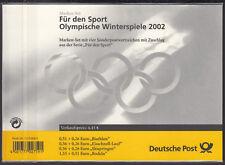 Bund MH 47 ** Olympia 2002 ! GEBLISTERT ! Bisher nie angeboten !! s.Beschreibung