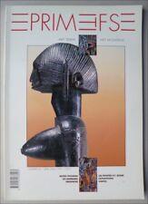 ART TRIBAL AFRIQUE ESQUIMAU - REVUE PRIMITIFS N° 4 1991