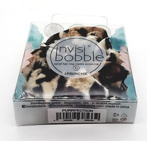INVISIBOBBLE Sprunchie Hair Purrfection NEW Damaged Box #4210