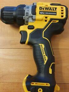 Dewalt DCD701 Drill/Driver 12V Max Li-Ion 3/8 Brushless 2-Speed (Bare Tool) NEW