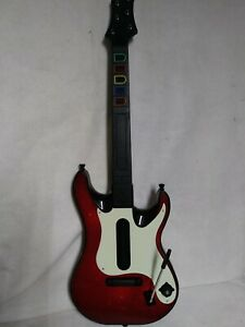 Guitar Hero Xbox 360 Wireless 95905-805 Band Hero Red White untested parts only