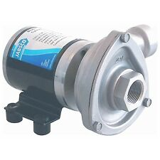 JABSCO CYCLONE CENTRIFUGAL PUMP 50840-0012 STAINLESS BILGE WATER SYSTEMS 12V