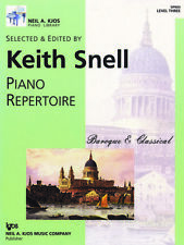 Keith Snell Piano Repertoire: Baroque & Classical - Level 3 GP603