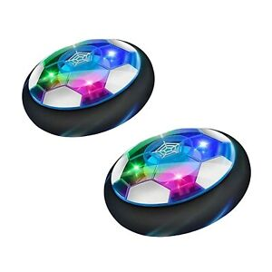 LED Hover Indoor Kids Football Game Soft Foam Toy Soccer Ball 2 Pack 2-12 Years