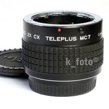 Kenko CX 2x-Teleplus MC7 * Contax/Yashica * converter * Konverter CY