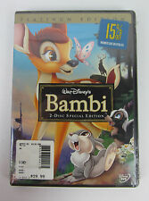 NEW Bambi (DVD, 2005, 2-Disc Set, Special Edition/Platinum Edition) Sealed