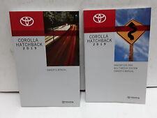2019 Toyota Corolla Hatchback Owners Manual