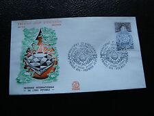 ANDORRE (francais) - enveloppe 1er jour 17/10/1981 (eau potable) (cy63) andorra