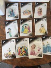 "10 Disney Princess Iron onTransfer approx 3""X4"""