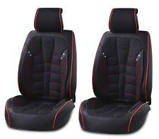 ant. NERO SIMILPELLE & Premium Tessuto COPRISEDILI imbottito per BMW X5 X6