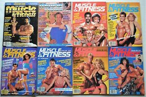 Vintage 1983 Joe Weider's MUSCLE & FITNESS MAGAZINE LOT- Your Choice