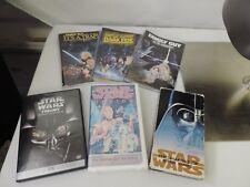 Star Wars DVD VHS LOT DOCUMENTARY CARTOON DROIDS FAMILY GUY PARODY
