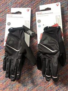 New BONTRAGER Sonic Windshell Women's Glove - Size Large - Black
