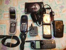 Bundle Old retro mobile phones