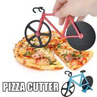 Rennrad Chopper Slicer Edelstahl Küchenrad Pizza Cutter Tools
