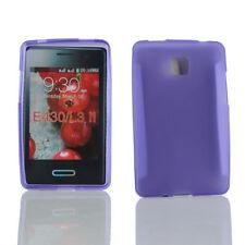 Housses et coques anti-chocs violet pour téléphone mobile et assistant personnel (PDA) LG