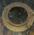 """ROSTAND BRASS PORTHOLE 6"""" GLASS DIA EXC COND RARE PRE-WWII ORIG PINS! MORE AVAIL"""